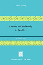 Rhetoric and Philosophy in Conflict: An…