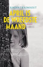 April is de wreedste maand by Rindert…