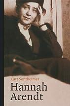 Hannah Arendt : de levensweg van een groot…