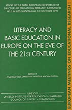 LITERACY & BASIC EDUCATION IN EUROPE ON…