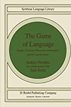 The game of language : studies in…