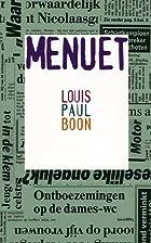 Menuet by Louis Paul Boon