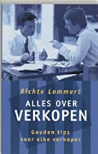 Alles over verkopen by Richte Lommert