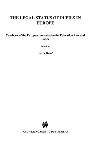the-legal-status-of-pupils-in-europe-yearbook-of-the-european-association-for-education-law-and-policy