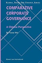 Comparative Corporate Governance : A Chinese…