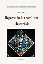 Begeerte in het werk van Hadewijch…