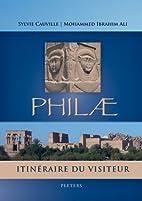Philae: Itinéraire du visiteur…