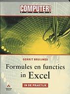 Formules en functies in Excel - in de…