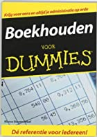 Boekhouden voor dummies by Marco Steenwinkel