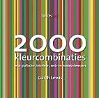 2000 kleurcombinaties voor grafische…