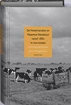 De Nederlandse en Vlaamse literatuur vanaf…