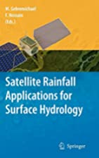 Satellite Rainfall Applications for Surface…