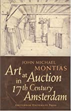 Art at auction in 17th century Amsterdam by…
