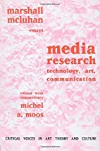 Media Research: Technology, Art and…