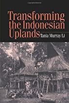 Transforming the Indonesian Uplands (Studies…