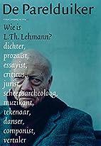 De Parelduiker 2014/4-5 : Wie is L.Th.…