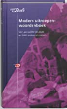 Van Dale Modern uitroepenwoordenboek Van…