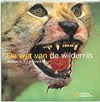 De wet van de wildernis by Richard du Toit