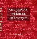 Geschiedenis van de wiskunde vanaf de…