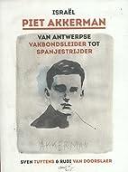 Israël Piet Akkerman van Antwerpse…