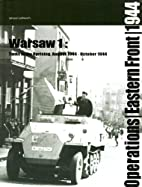 WARSAW 1: TANKS IN THE UPRISING: August -…