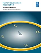 Human Development Report 2013: The Rise of…