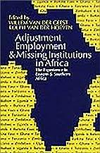 Adjustment Employment & Missing Institutions…