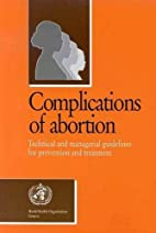 Complications of abortion : technical and…