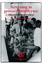 Screening in primary health care : setting…