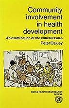 Community Involvement in Health Development…