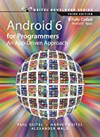 Android 6 for Programmers: An App-Driven…
