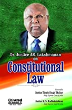 Constitutional Law by Justice A.R.…