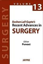 Roshan Lall Gupta's Recent Advances in…