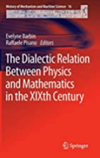 The Dialectic Relation Between Physics and…