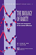 The Biology of Rarity: Causes and…