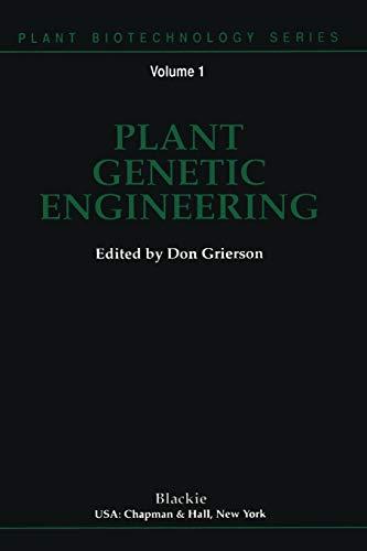 plant-genetic-engineering-plant-biotechnology-series-volume-1