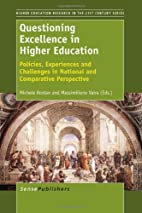 Questioning Excellence in Higher Education:…