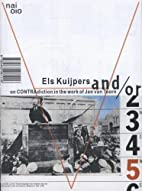 And/Or: On Contradiction in the Work of Jan…