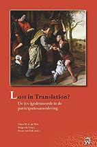 Lost in translation : de (ex-)gedetineerde…