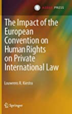 The Impact of the European Convention on…
