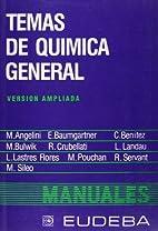 Temas de Química General. Versión ampliada…