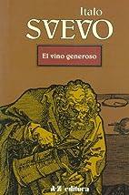 Vino Generoso, El (Spanish Edition) by Italo…