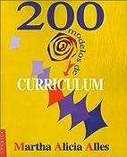 200 Modelos de Curriculum (Spanish Edition)…