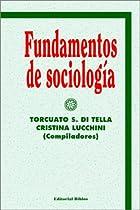Fundamentos de sociología by Torcuato S. Di…