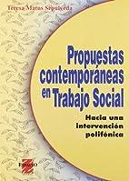 Propuestas contemporaneas en Trabajo Social…