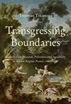 'Transgressing Boundaries: Worldly…