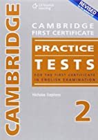 Cambridge Fce Practice Tests 2 CD by…