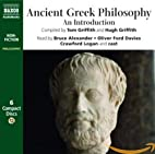 Ancient Greek Philosophy: An Introduction by…