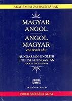 Hungarian-English and English-Hungarian…