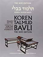 Koren Talmud Bavli Noé, Vol.7:…